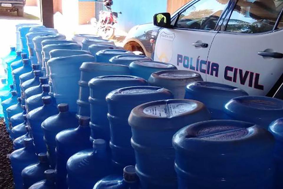 Água tirada de poço era vendida como mineral aos consumidores em Rondônia
